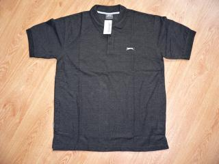 Tričko Slazenger Plain Polo (Grey Heat)